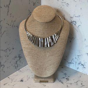 Chloe + Isabel Sculpted Metal Necklace